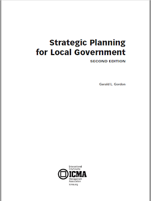 Strategic Planning for Local Government, 2nd Edition LARGE