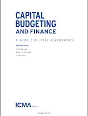 CAPITAL BUDGETING AND FINANCE: A GUIDE FOR LOCAL GOVERNMENTS, 2ND EDITION THUMBNAIL