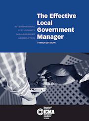 The Effective Local Government Manager, 3rd Edition THUMBNAIL