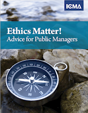 Ethics Matter! Advice for Public Managers THUMBNAIL