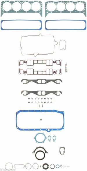 Chevy 350 Vortec Full Gasket Set Plus Head Bolts 260 1735 Ehc99s