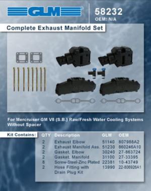 Mercruiser 5 0L/5 7L V8 (GL58232)