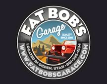 fat bobs garage logo