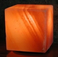 Himalayan Crystal Rock Salt 4 Inch Cube Lamp image_MAIN