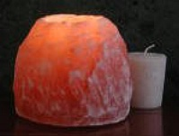 Aloha Bay Himalayan Crystal Rock Salt Votive & Tealight Candle Holder MAIN