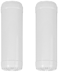 "CuZn 10"" Chlorine + Hardness 45,000 Gallon Whole House Replacement Filter LARGE"