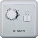 Venmar-Broan White Remote Dehumidistat Optional Wall Control LARGE