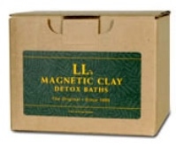 LL's Magnetic Clay Bath Kits, Detox, Magnetic Clay, Environmental Detox Clay, Body Detoxification image