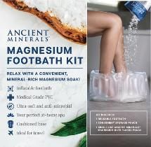 Ancient Minerals Magnesium footbath kit image LARGE