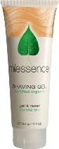 Miessence Certified Organic Soothing Shaving Gel for Men & Women image