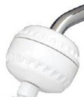 Sprite White Slim-Line Shower Filter with NO Showerhead MAIN