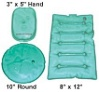 Unique Stuff 4-Piece Outdoor Activity Set - Hand, Seat, 8x12 Pouch LARGE