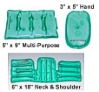 Unique Stuff Medical 4-Piece Heat Pack Set - Hand, Neck, Multi-Use