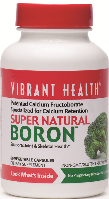 Vibrant Health Super Natural Boron vegicaps 3 mg Gluten Free Capsules Image LARGE
