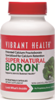 Vibrant Health Super Natural Boron vegicaps 3 mg Gluten Free Capsules Image