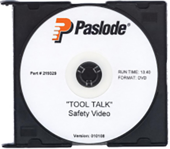 TOOL TALK DVD-SAFETY-ENG
