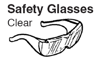 GLASSES/SAFETY-CLEAR