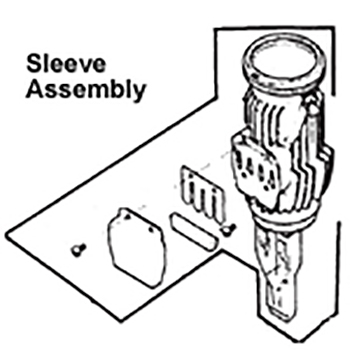 SLEEVE ASSY (CT) NEW