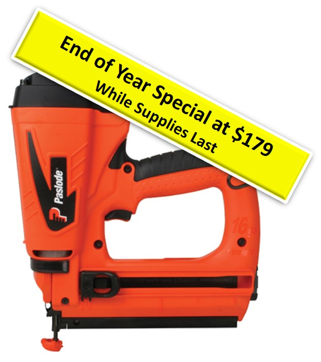 Paslode refurbished cordless straight finish nailer