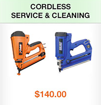CORDLESS SERVICE&CLEANING