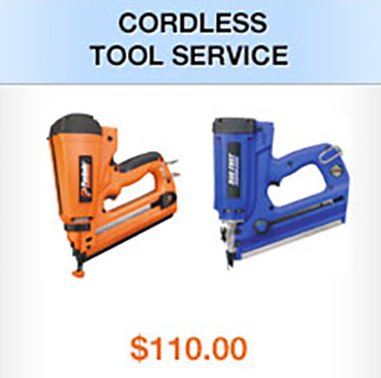CORDLESS TOOL SERVICE