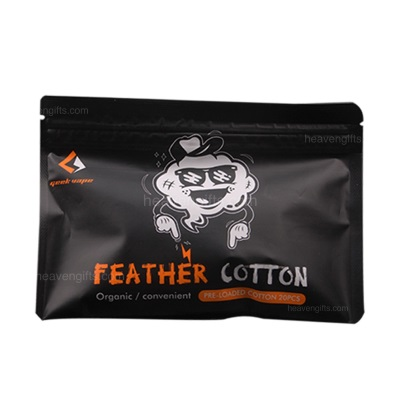 Geekvape Squares of Feather Organic Cotton MAIN