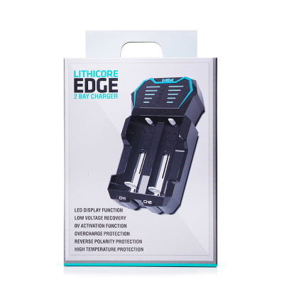Lithicore Edge 2 Bay Battery Charger THUMBNAIL