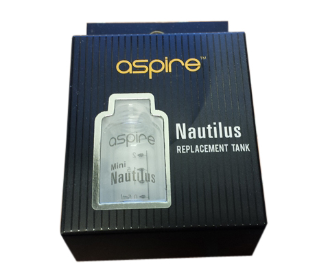 Aspire Nautilus Mini Replacement Tank Glass MAIN