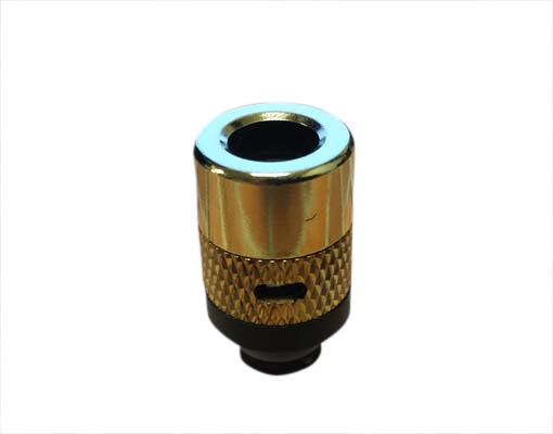 Brass 510 Drip Tip With Airflow Control THUMBNAIL