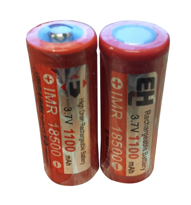 EH IMR 18500 1100mAh Battery