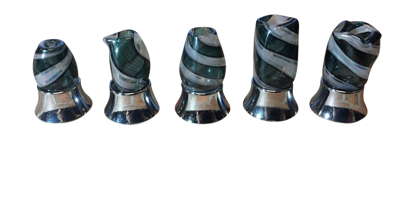 Ghosted Glass Hand Blown Drip Tips THUMBNAIL