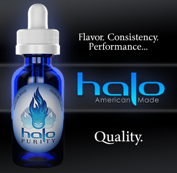 Halo E-Liquid 0mg/3mg