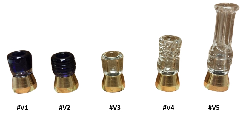 Hand Blown Pyrex Drip Tips