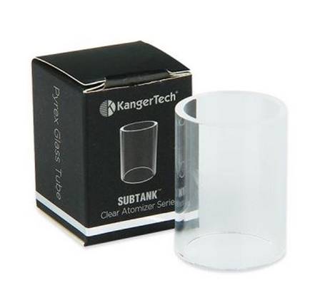 Kanger Subtank Pyrex Glass Replacement Tube THUMBNAIL