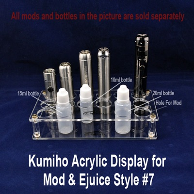 Kumiho Acrylic Display for Mod & Ejuice Style #7_THUMBNAIL