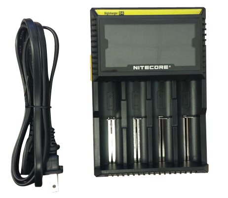 Nitecore Intellicharger  D2/D4 Li-ion / NiMH battery charger