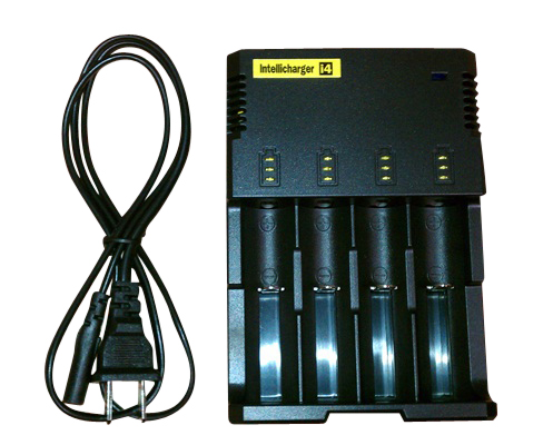 Nitecore Intellicharger I4 Li-ion / NiMH battery charger