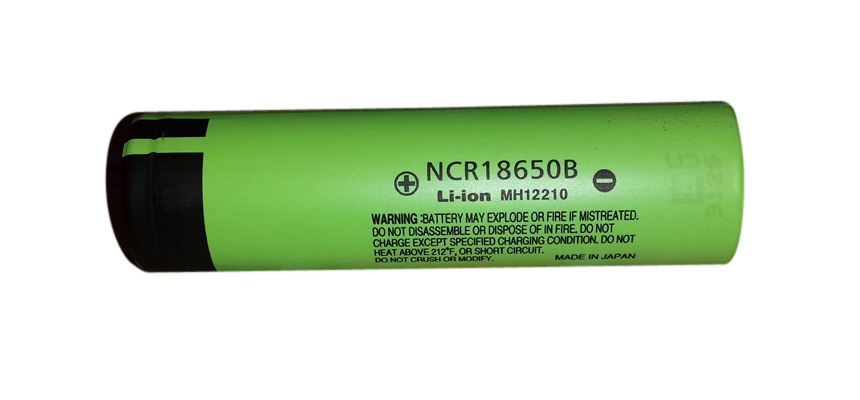 Panasonic 18650B 3400mAh Battery