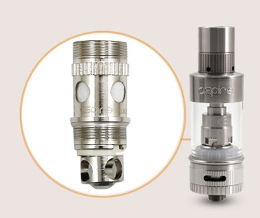 Replacement Sub Ohm Coils for Aspire Atlantis 2 Tank Clearomizer