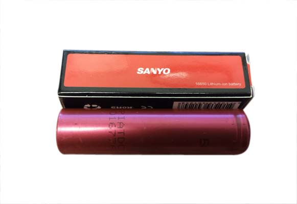 Sanyo 16650 Lithium-ion Battery