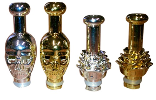 Skull And Lotus Drip Tip THUMBNAIL