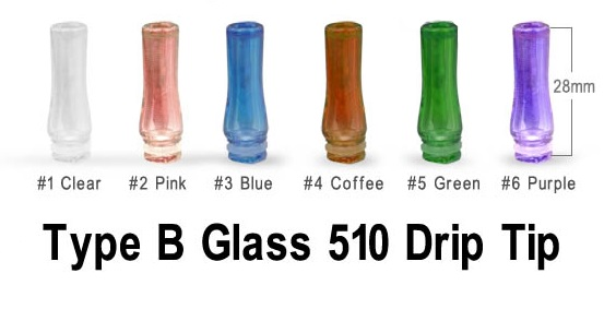 Glass Drip Tips