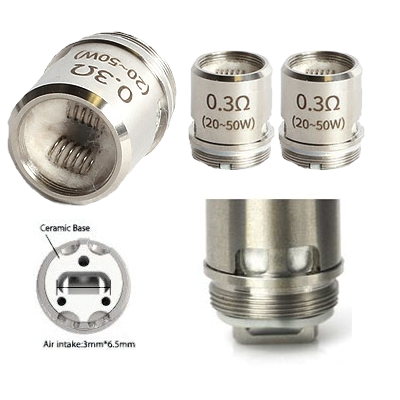Replacement OCC Heads for UD Youde Zephyrus Rebuildable Tank Atomizer