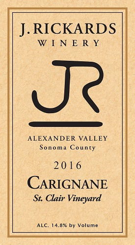 2016 Carignane, St. Clair Vineyard