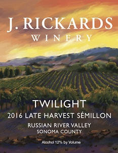 2016 Twilight, Late Harvest Sémillon