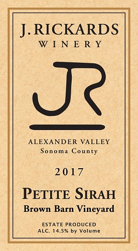 2017 Petite Sirah Brown Barn Vineyard MAIN