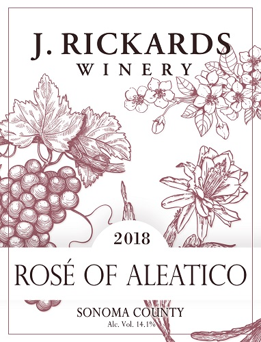 2018 Rosé of Aleatico_MAIN