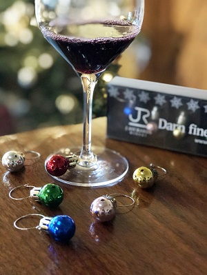 Ornament Wine Glass Charms THUMBNAIL