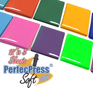 "PerfecPress Soft 12"" x 8"" Sheets SWATCH"