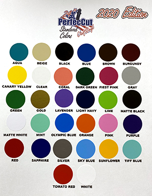 PerfecCut Color Chart THUMBNAIL